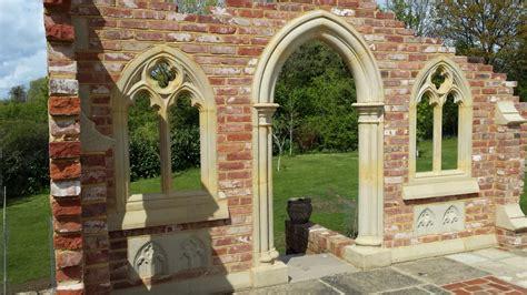 The Forgotten Garden by Garden Folly Gothic Arch Abbey Doorway