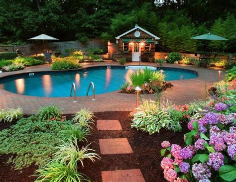 garden design decorating outdoor lighting  beautiful