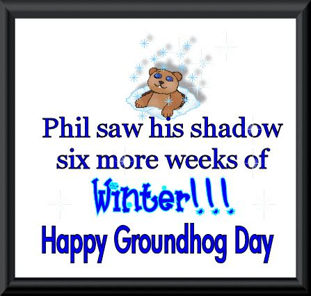 groundhog day saying inspirational quotes with images of groundhog quotesgram
