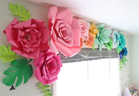 How To Make A Paper Flower Wall - the craft patch how to make paper flowers