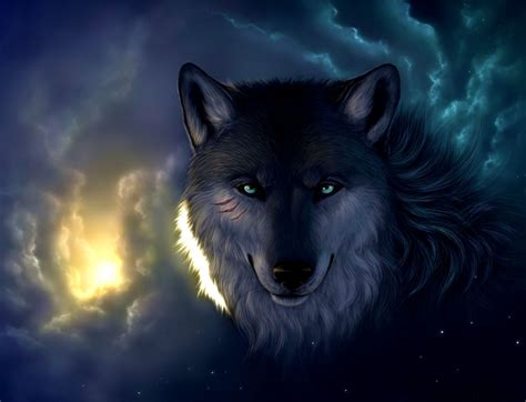 Wallpaper Abyss Wolf | wallpaper hd wolf amazing wallpapers
