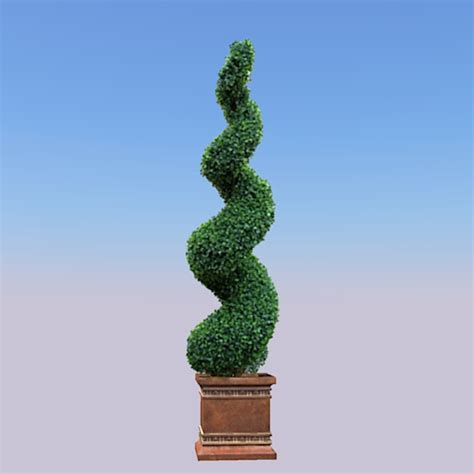 topiary forms for topiary spiral 3d model formfonts 3d models textures