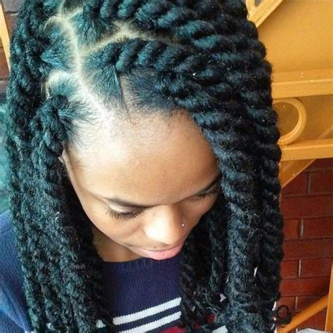 Marley Twists Hairstyles by 1000 Images About Naturally Twisted Box Braids Marley