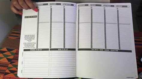 layout planner planner planner layout monthly weekly