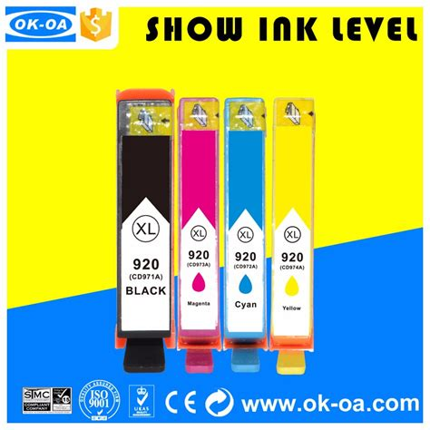 reset ink cartridge hp officejet 7000 high quality ink cartridges 920xl reset chip for hp