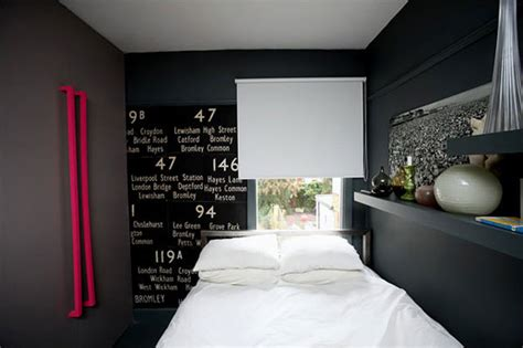 small dark bedroom dark and moody bedroom apartment with white bed interior
