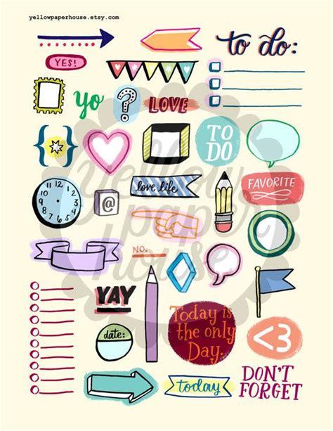 printable planner doodles les 146 meilleures images 224 propos de images bullet