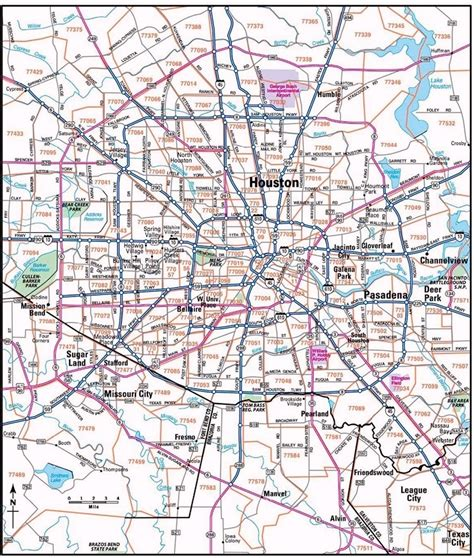 printable zip code map houston houston zip code map world maps travelquaz com