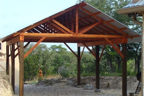 well blechverkleidung pdf woodwork post and beam carport plans diy