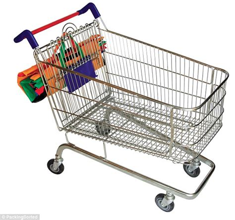 Keranjang Trolley trolley bags fit inside supermarket trolleys could