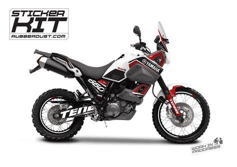 Tenere Motorrad by Stickerset For The Yamaha T 233 N 233 R 233 Xt660z Rubberdust