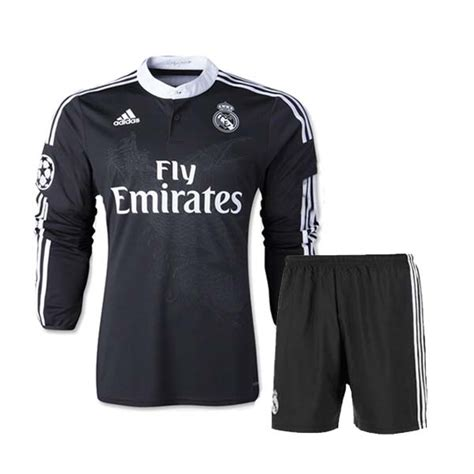 Madrid Away 14 15 14 15 real madrid away black sleeve jersey kit shirt