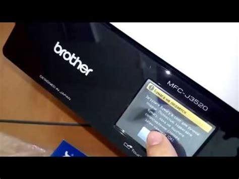 reset brother mfc j3520 brother printer mfc j3520 inkbenefit cara mengganti he