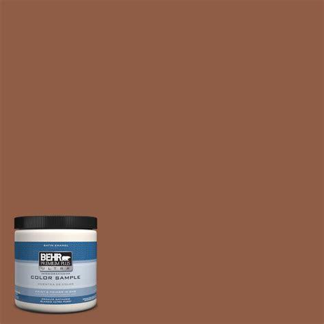 behr premium plus ultra 8 oz ppu5 2 aging barrel interior exterior satin enamel paint sle