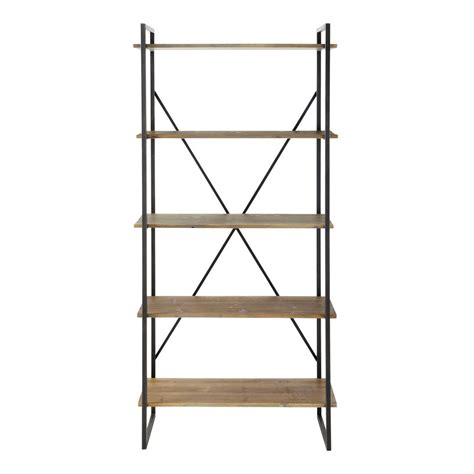 Etagere Metall by 201 Tag 232 Re En M 233 Tal Anthracite L 85 Cm Staten Maisons Du Monde