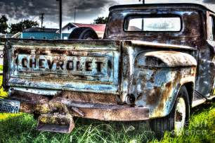 Rusted Chevrolet Chevy Truck Photograph By Skrodzki