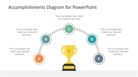 templates powerpoint how to accomplishments diagram for powerpoint slidemodel
