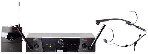 Murah Mic Wireless Akg Wms 45 Sport Headset akg wms 40 pro sports flex sound 7