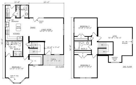 100 two story mobile homes floor plans home design