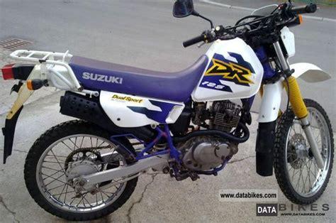 Suzuki Dr 125 1998 Suzuki Dr 125 Se Moto Zombdrive