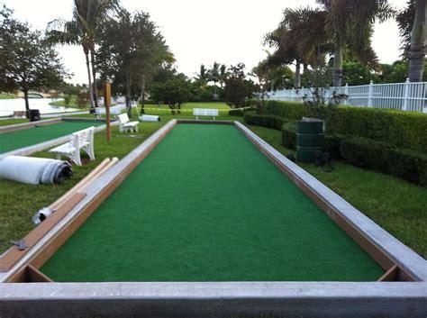 bocce ball court construction maintenance sport surfaces