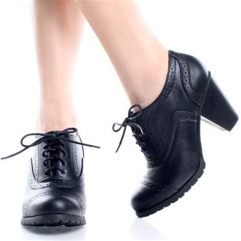 womens high heel oxford shoes 1000 images about oxford shoes on