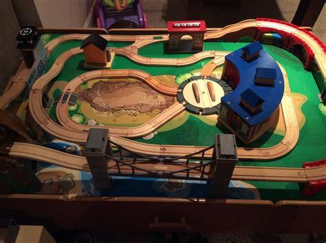 imaginarium table with roundhouse imaginarium table with roundhouse wooden