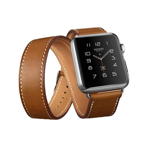 Apple 38mm 42mm Hermes Tour Wrist Leather Premium 3 models genuine leather wrist bracelet watchband for