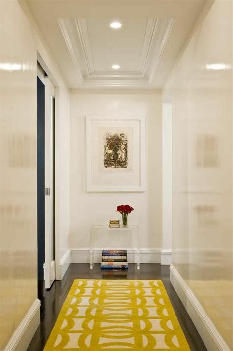 flur gestalten gelb gelber teppich f 252 r eine frische und strahlende