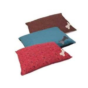 Bed With Bone Pillow by The Muttnation Bone Applique Pillow Bed Granville Milling
