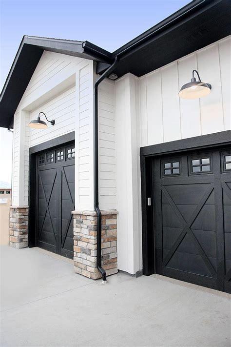 ideas  painted garage doors  pinterest