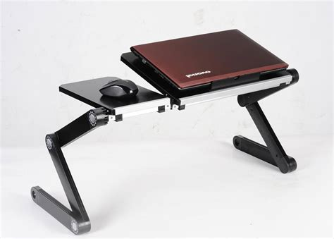 Laptop On A Desk The Best Laptop Desk Comfort And Convenience