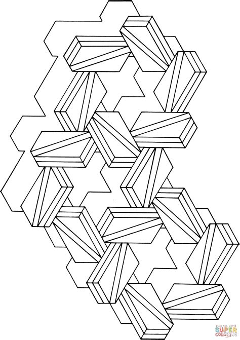 optical illusion coloring pages free printable optical illusion coloring pages coloring home