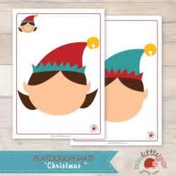 bisy little bugs christmas playdough mats amp boy elf