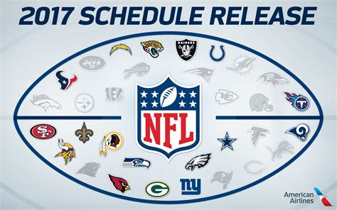 2017 nfl schedule release rams 2017 schedule released football st louis rams