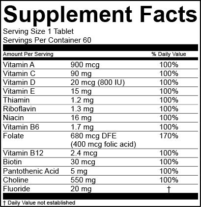 Supplement Facts Template by Us Supplement Labeling Formats Esha Research