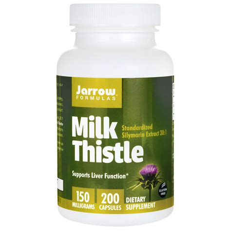 And Milk Thistle Saves Family From by Jarrow Formulas Inc Milk Thistle Standardized Silymarin