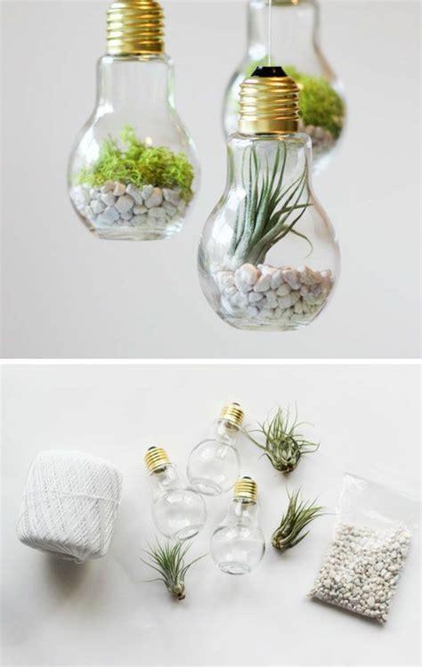 diy home ideas dekorieren diy projekte mit alten gl 252 hbirnen 25 kreative bastelideen