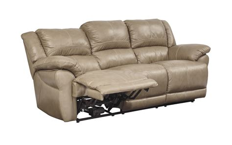 u9890487 signature by lenoris reclining power sofa