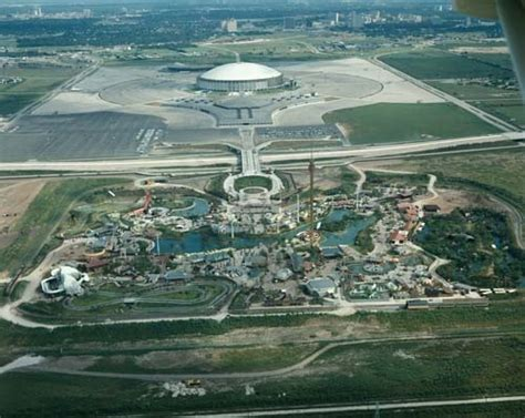 World 24 Tx by Astroworld Astrodome 1972 Houston Tx Astroworld Is