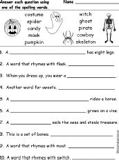 how to spell boat in spanish halloween activities spelling worksheets