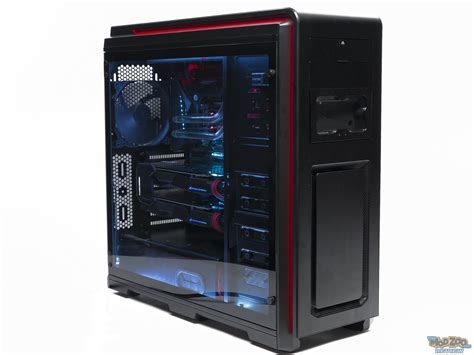 Lift Floor Plan by Phanteks Enthoo Luxe Tempered Glass Edition Review The