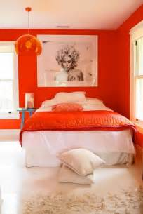 orange bedroom ideas 25 orange room design ideas shelterness