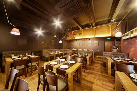 bar de estilo industrial  suelo de madera fotos