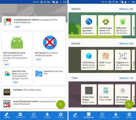 app updates android f droid update brings major ui improvements the android soul