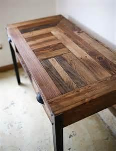 diy pallet desk with 2 drawers study desk 101 pallets