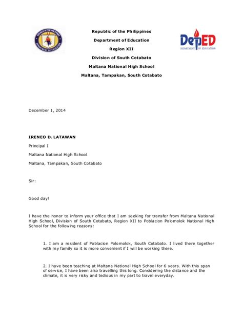 Letter Of Intent Template Philippines Letter Of Intention