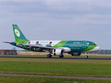 Aer Sc 07 C aer lingus ei dei airbus a320 214 quot rugby team green spirit quot polderbaan flughafen