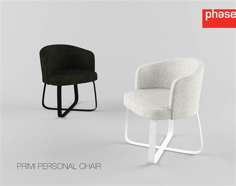 Personal Chair by Phase Primi Personal Chair 3d Model Max Obj Fbx
