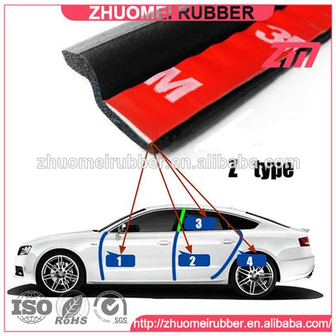 Car Gasket Types by 3m Rubber Stripe For Car Sealing Z Type Gasket Buy 3m